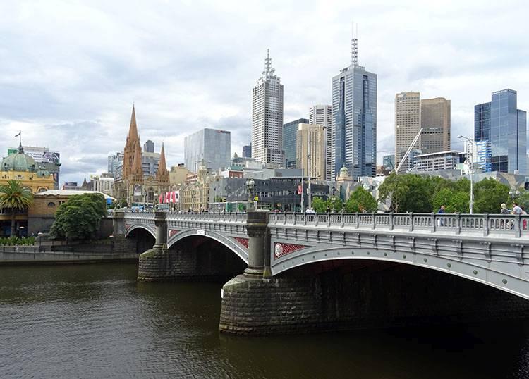 rzeka Yarra Melbourne ciekawostki atrakcje Australia