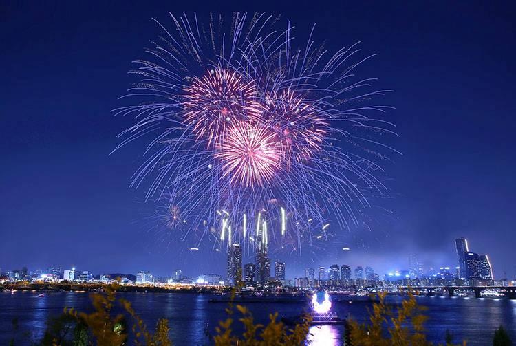 Seul Korea Południowa fajerwerki ciekawostki