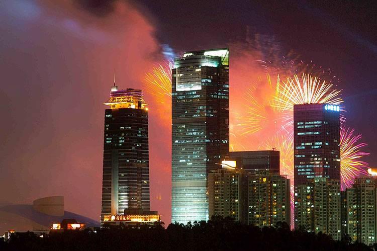 Shanznen Chiny fajerwerki ciekawostki