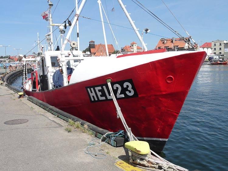 statek port Hel ciekawostki atrakcje wakacje