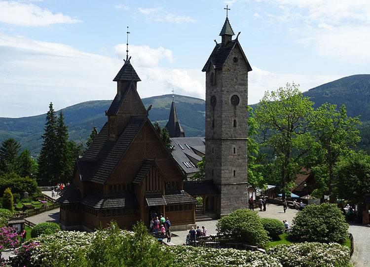 kościół świątynia Wang ciekawostki Karpacz Dolny Śląsk