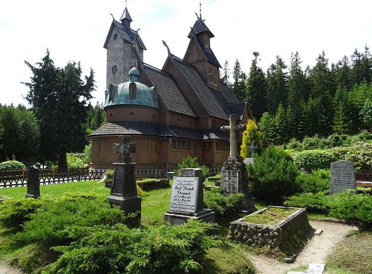kościół świątynia Wang ciekawostki Karpacz