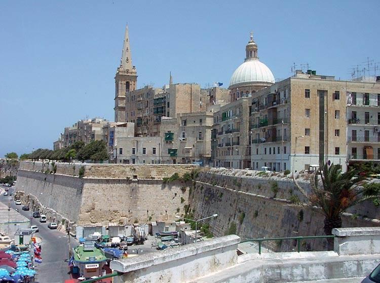Valetta ciekawostki atrakcje miasto stolica Malta