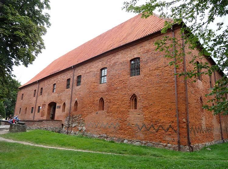 zamek krzyżacki Ostróda ciekawostki atrakcje zabytki