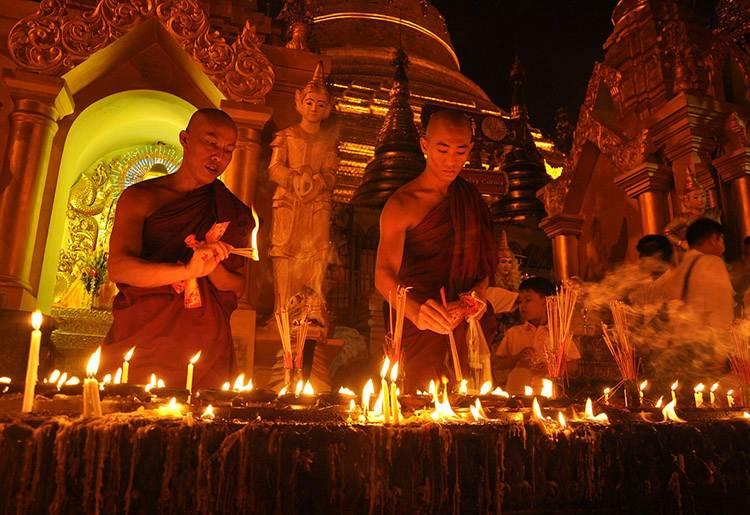 Buddyzm Birma ciekawostki Mjanma