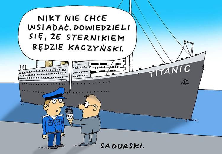 Jarosław Kaczyński dowcipy polityczne satyra humor pis polityka