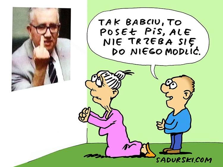 PiS poseł posłowie Sejm dowcipy polityczne satyra humor pis polityka