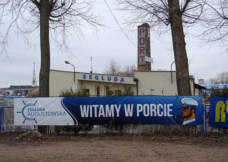 port w Augustowie Augustów ciekawostki atrakcje