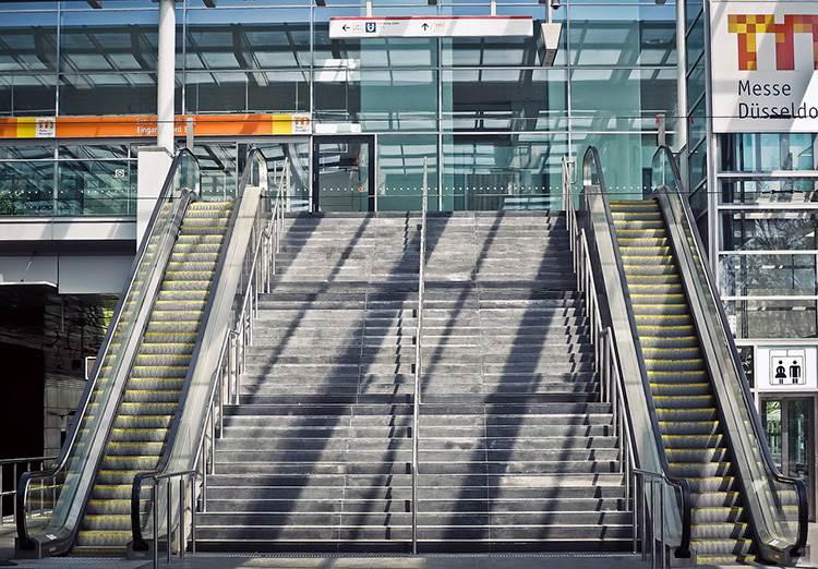 schody ruchome ciekawostki Dusseldorf Niemcy