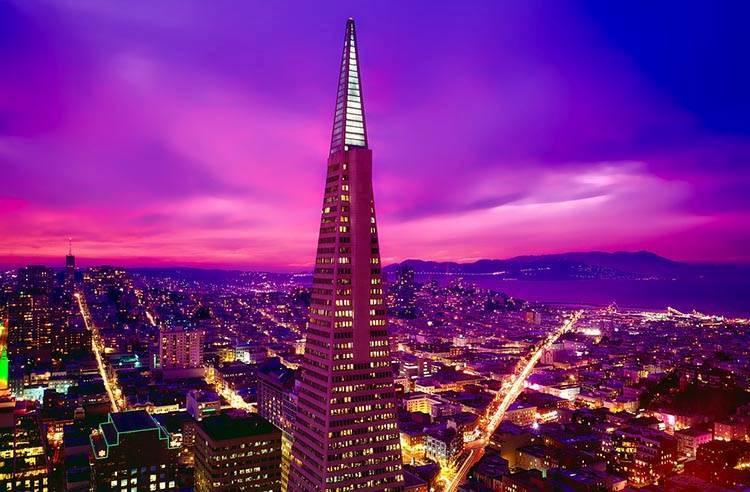 Transamerica Pyramid San Francisco ciekawostki atrakcje