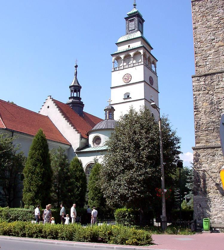 kościół Żywiec ciekawostki atrakcje historia
