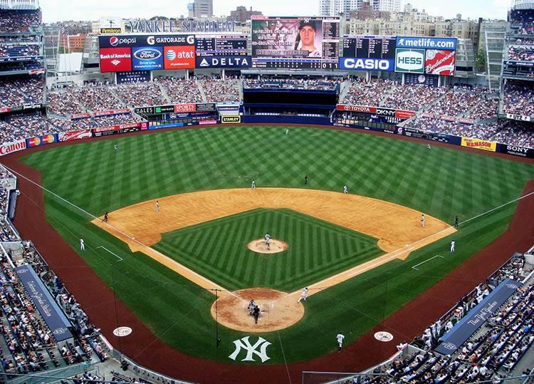 baseball stadion Yankee Stadium ciekawostki Nowy Jork NYC