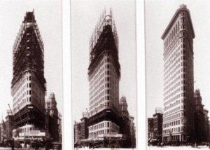 budowa Flatiron Building Nowy Jork ciekawostki