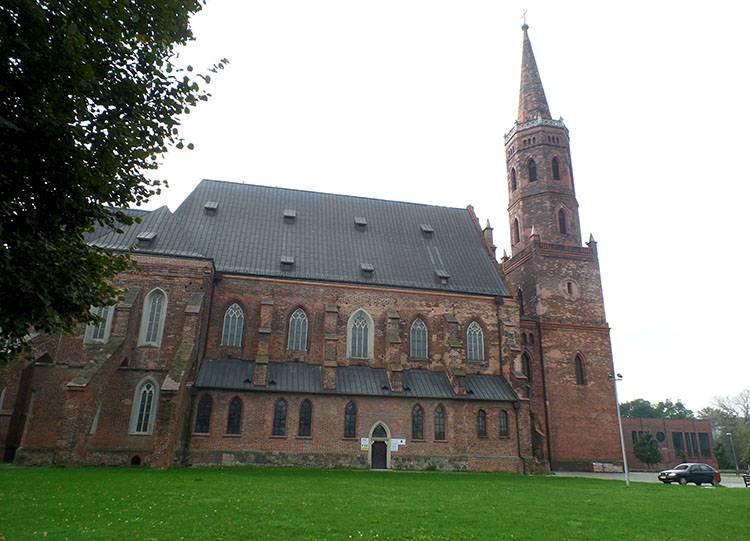 kościół kolegiata Głogów ciekawostki atrakcje zabytki