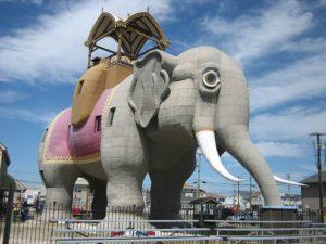 słonica Lucy the Elephant ciekawostki New Jersey