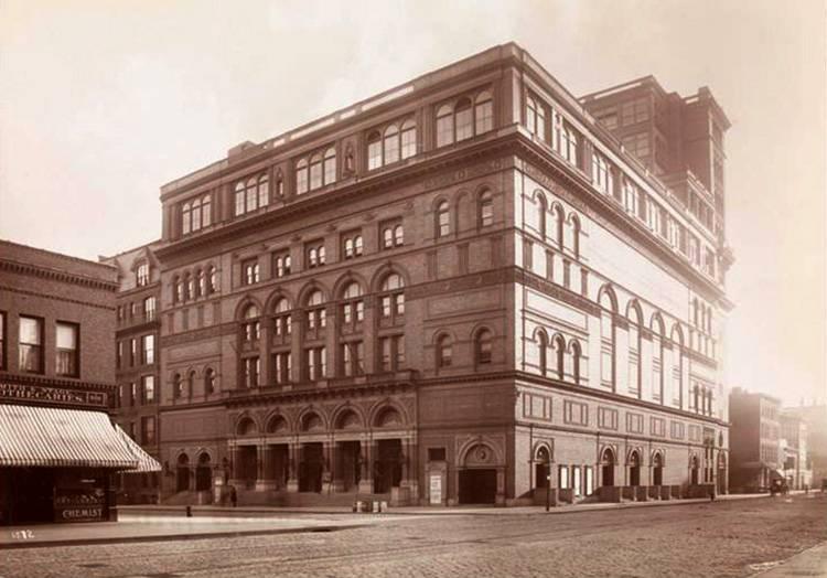 1895 Carnegie Hall ciekawostki Nowy Jork
