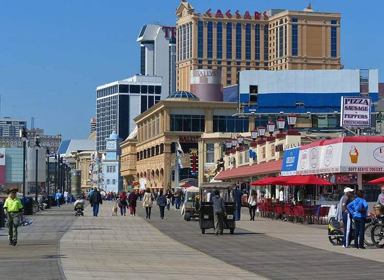 Atlantic City New Jersey ciekawostki USA