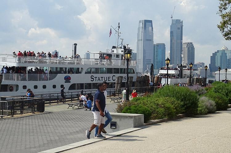statek Battery Park Nowy Jork ciekawostki NYC