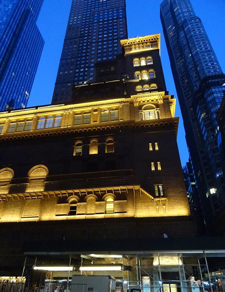 Carnegie Hall ciekawostki Nowy Jork