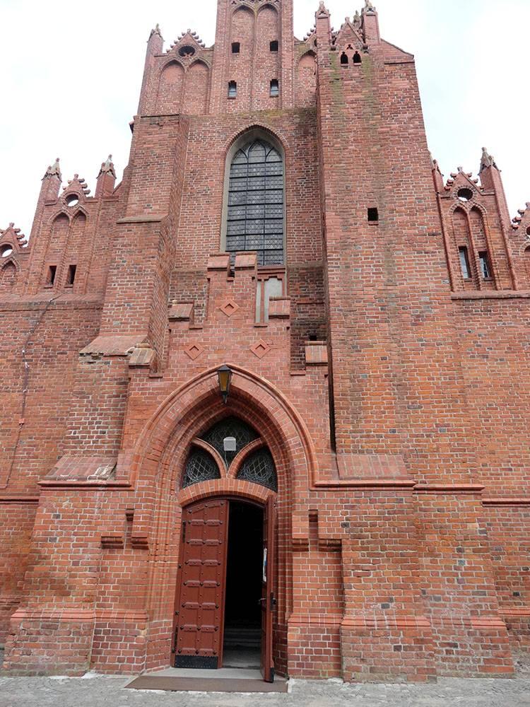 kościół św. Mateusza Starogard Gdański ciekawostki atrakcje