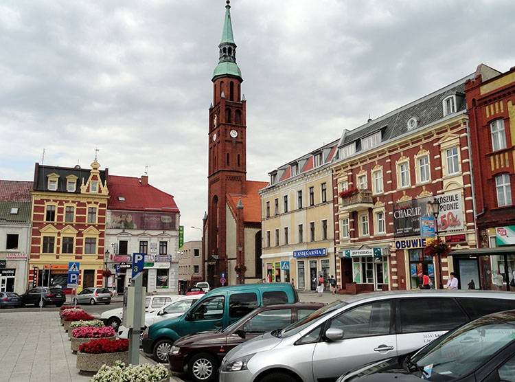 rynek kościół Starogard Gdański ciekawostki atrakcje