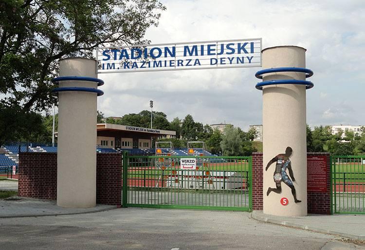 Stadion Kazimierza Deyny Starogard Gdański ciekawostki atrakcje