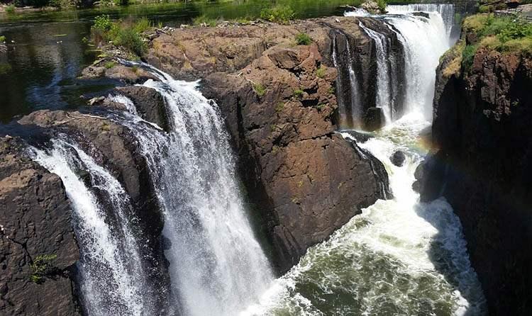 wodospad Paterson New Jersey ciekawostki