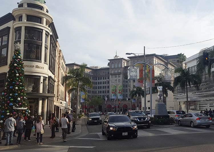 miasto Beverly Hills Hollywood Los Angeles ciekawostki