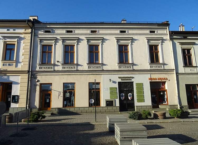 Dom Tymowskiego rynek Nowy Sącz ciekawostki zabytki