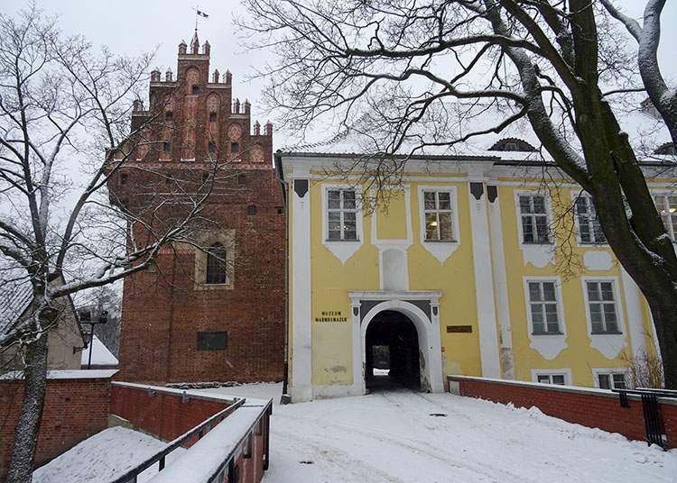 Muzeum Warmii i Mazur Olsztyn ciekawostki atrakcje zabytki
