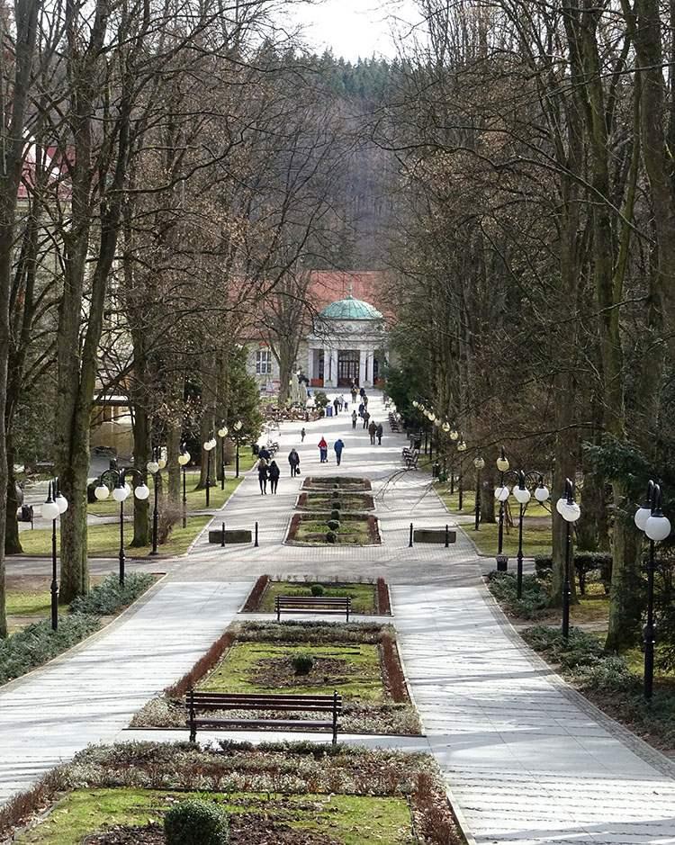 Pijalnia Park Zdrojowy Polanica Zdrój ciekawostki atrakcje