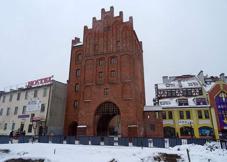 Wysoka Brama Olsztyn ciekawostki atrakcje zabytki
