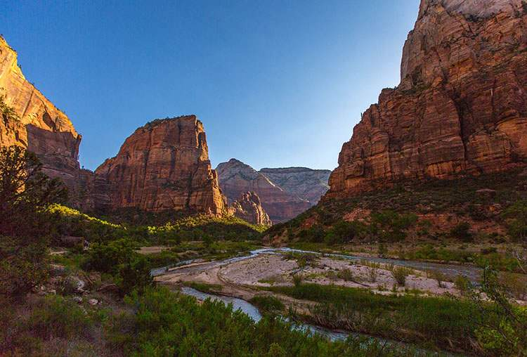 Zion Park Utah ciekawostki USA