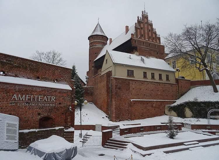 amfiteatr Zamek Kapituły Warmińskiej Olsztyn ciekawostki atrakcje zabytki
