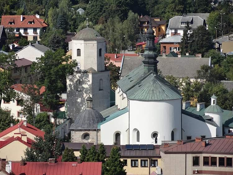 miasto Iłża ciekawostki kościół