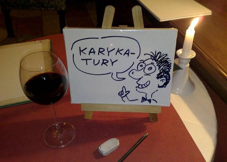 karykaturzysta na imprezę atrakcje na event firmowy