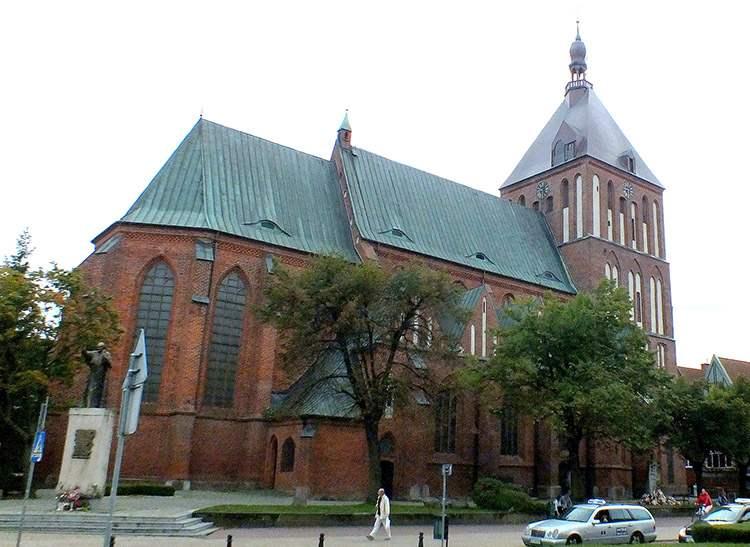 katedra Niepokalanego Poczęcia Najświętszej Maryi Panny Koszalin ciekawostki