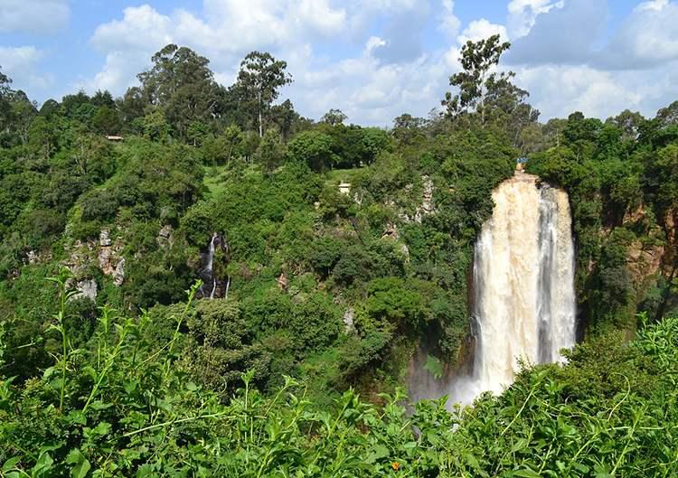 wodospad Kenia ciekawostki Afryka