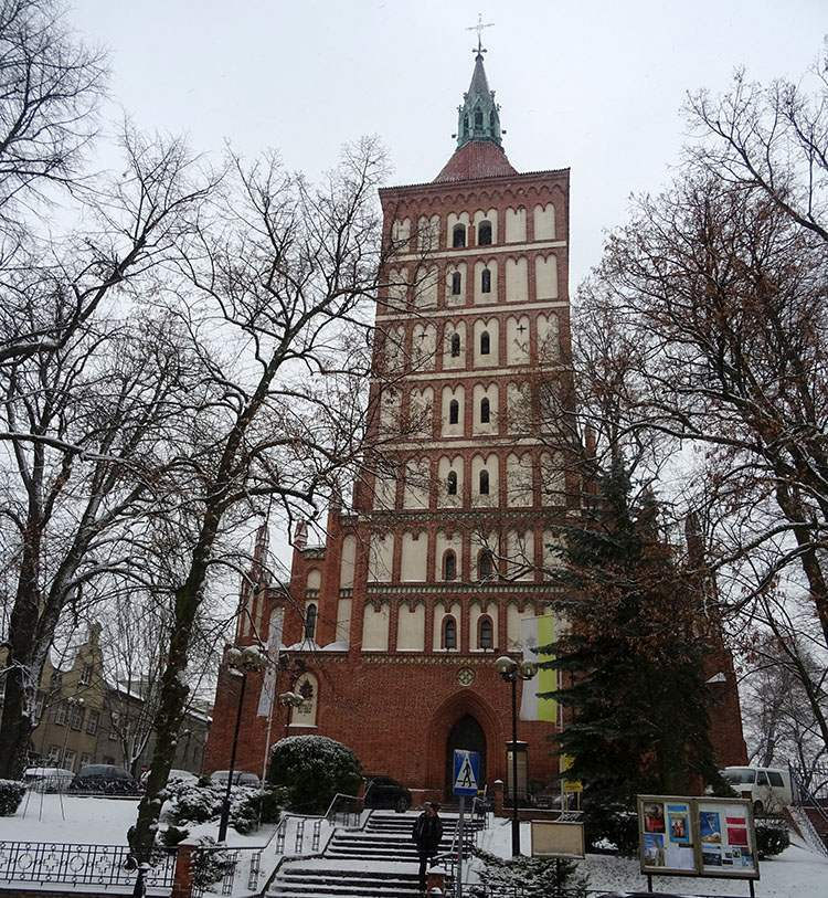 konkatedra kościół św. Jakuba Olsztyn ciekawostki atrakcje zabytki