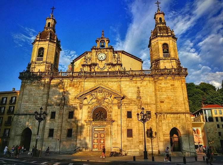 kościół Bilbao ciekawostki zabytki
