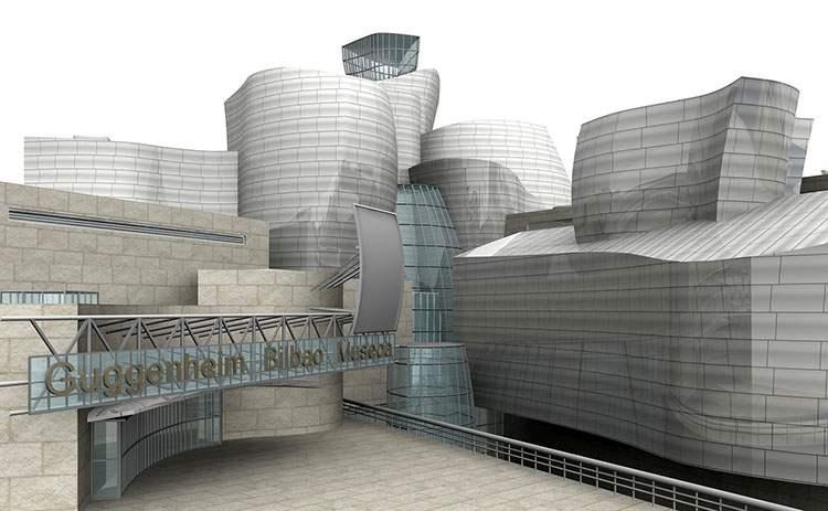 muzeum Guggenheima Bilbao ciekawostki Gehry