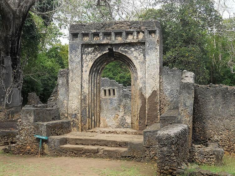 pałac Gedi Etiopia zabytki ciekawostki atrakcje