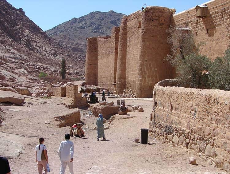 półwysep Synaj Klasztor Świętej Katarzyny Egipt atrakcje