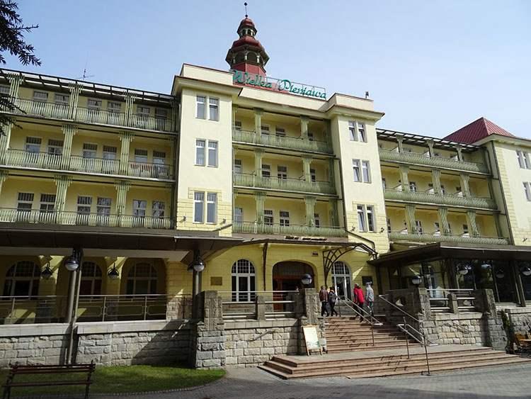sanatorium Wielka Pieniawa Polanica Zdrój ciekawostki atrakcje