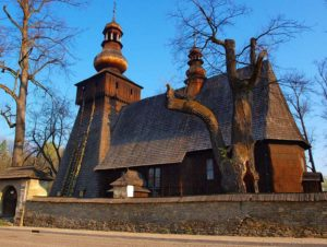 stary kościół drewniany Rabka-Zdrój ciekawostki zabytki