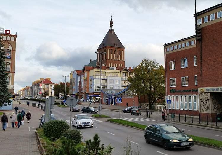 ulica Zwycięstwa katedra Koszalin ciekawostki