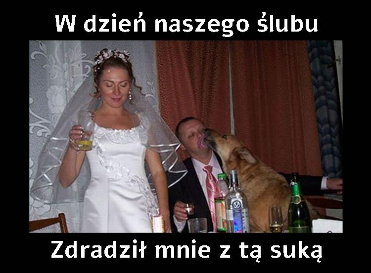 Najlepsze memy wesele i ślub. Memy weselne Obrazki