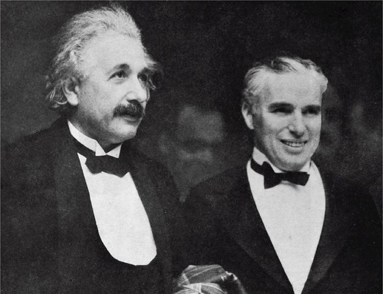 Albert Einstein Charlie Chaplin anegdoty ciekawostki cytaty życiorys Charles aktor aktorzy
