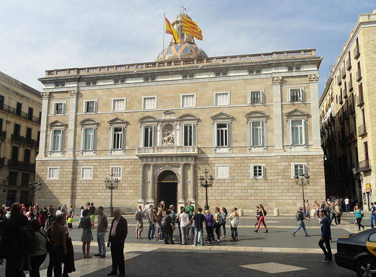 Katalonia parlament Katalonii Barcelona ciekawostki