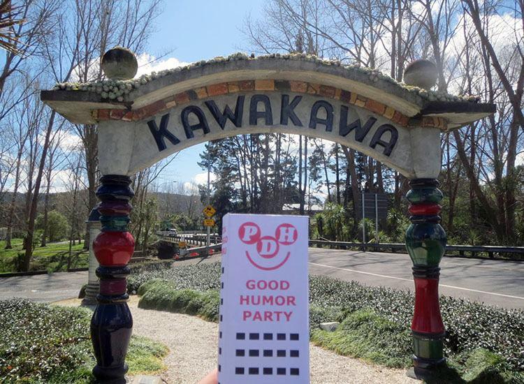 Kawakawa Nowa Zelandia Wesoły Wieżowiec
